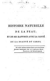 Histoire naturelle de la peau
