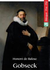 Gobseck (Français Polonais édition illustré): Gobseck (wydanie francuski polski ilustrowane)