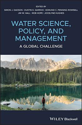 Water Science  Policy and Management