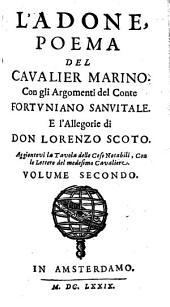L' Adone: Poema Del Cavalier Marino, Volume 2