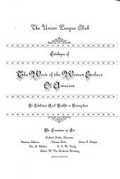 Catalogue of the Work of the Women Etchers of America, on Exhibition April 12th to 21st ...