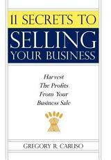 11 Secrets to Selling Your Business PDF