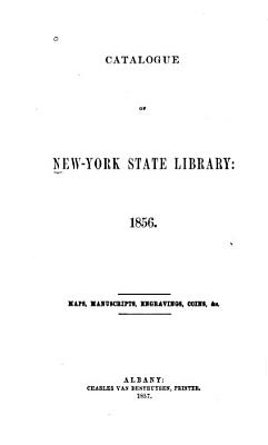 Catalogue of New York State Library  1856 PDF