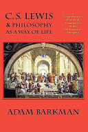 C  S  Lewis   Philosophy as a Way of Life PDF