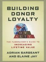 Building Donor Loyalty
