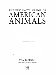 The New Encyclopedia of American Animals PDF