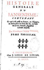 Histoire générale du jansénisme