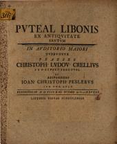 Puteal Libonis ex antiquitate erutum