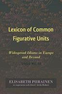 Lexicon of Common Figurative Units