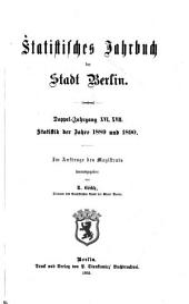 Statistisches jahrbuch der stadt Berlin: Bände 16-17