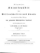 Allgemeine Encyklopädie der Wissenschaften und Künste: in alphabetischer Folge. Camaldulenser - Cazouls les Beziers. 1 ,15