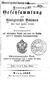 Provincial-gesetzsammlung des Königreichs Bömen: Band 28