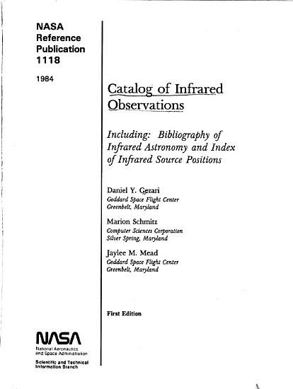 Catalog of Infrared Observations PDF