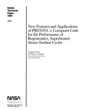 NASA Technical Paper