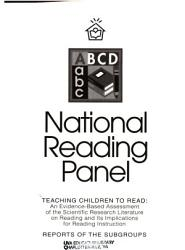 Teaching Children To Read An Evidence Based Assessment Of The Scientific Research Literature On Reading And Its Implications For Reading Instruction Reports Of The Subgroups Book PDF