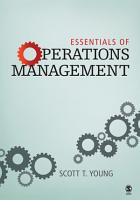 Essentials of Operations Management PDF