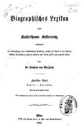 Biographisches Lexicon des Kaiserthums Österreich, enthaltend die Lebensskizzen der denkwürdigen Personen, welche 1750 bis 1850 im Kaiserstaate und in seinen Kronländern ... gelebt haben: Band 18