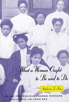 What a Woman Ought to Be and to Do PDF