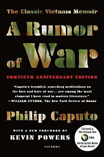 A Rumor of War Book