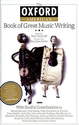 The Oxford American Book of Great Music Writing PDF