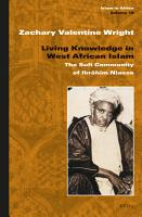 Living Knowledge in West African Islam PDF
