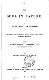 The soul in nature, tr. by L. and J.B. Horner