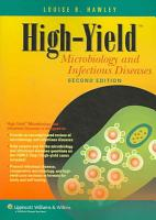 High yield Microbiology and Infectious Diseases PDF