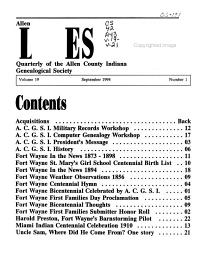 Allen County Lines PDF