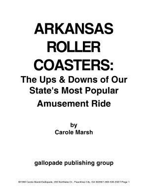 Arkansas Rollercoasters  PDF