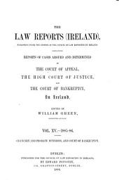 The Law Reports (Ireland): Volume 15