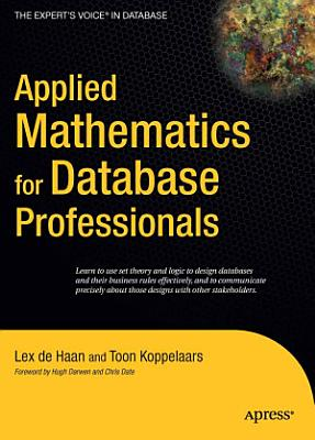 Applied Mathematics for Database Professionals PDF