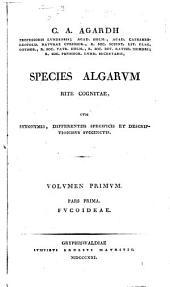 Species algarum rite cognitae: cum synonymis, differentiis specificis et descriptionibus succinctis, Volume 1