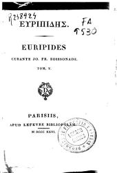Euripides: Volume 5