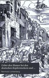 Ueber den Humor bei den deutschen Kupferstechern und Holzschnittkünstlern des 16. Jahrhunderts