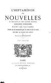 L'Heptaméron des nouvelles de très haute et très illustre princesse Marguerite d'Angoulême: Volume3