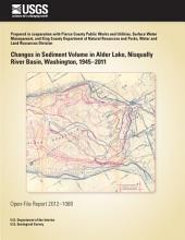 Changes in sediment volume in Alder Lake, Nisqually River Basin, Washington, 1945–2011