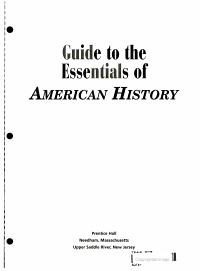 America  Pttp Gde to Essentials 2000 Third Edition