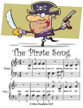 The Pirate Song - Beginner Tots Piano Sheet Music