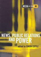 News  Public Relations and Power PDF