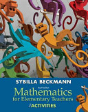 Mathematics for Elementary Teachers with Activities Book