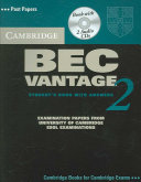 Cambridge BEC Vantage 2 Self Study Pack PDF