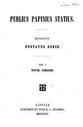Publius Papinius Statius: Volume 1