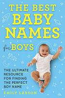 The Best Baby Names for Boys PDF