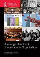 Routledge Handbook of International Organization PDF