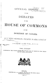 Official Report of Debates, House of Commons: Volume 3; Volume 84