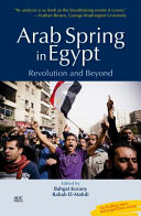 Arab Spring in Egypt PDF