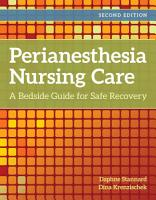 Perianesthesia Nursing Care PDF