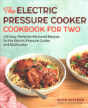 Electric Pressure Cooker Cookbook for Two