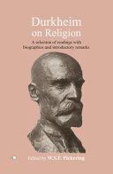 Durkheim on Religion PDF