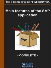 Main Features of the SAP Application - complete